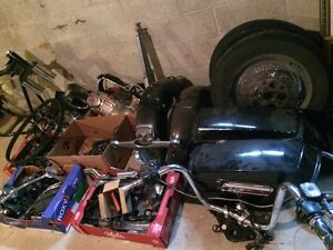 87 HARLEY Road King in pieces