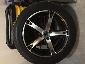Michelin tires and rtx rims in excellent condition.