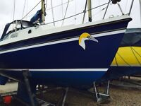 Yacht gannet