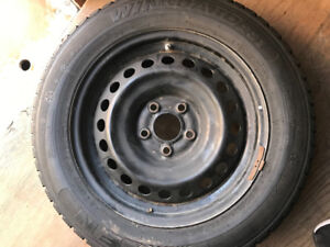 tire and rim for Nissan Altima