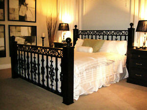Custom Wrought Iron Bedframes