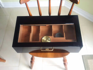 Humidor - Wood and Glass