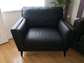 Lincoln Leather Armchair