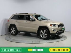 2015 Jeep Grand Cherokee Limited 4WD CUIR TOIT NAVIGATION MAGS H