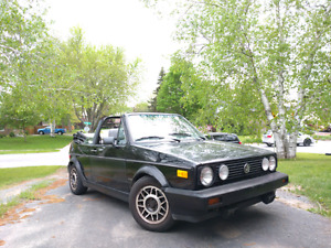 1988 VW Golf Cabriolet - Safetied and Drives Amazing