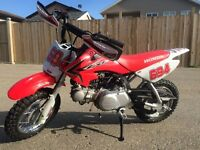 2015 Honda CRF50, mint condition, 1 month old, Upgrades!