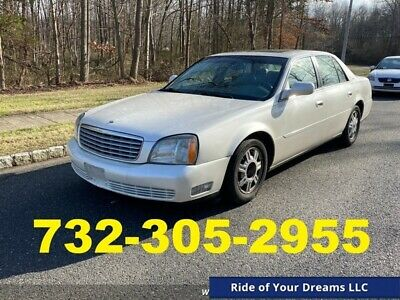 2003 Cadillac DeVille  2003 Cadillac DeVille, White with 96,936 Miles available now!