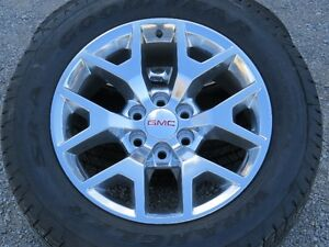 GMC or CHEVROLET WHEELS AND TIRES