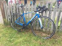 2015 giant defy 3 road bike, size small