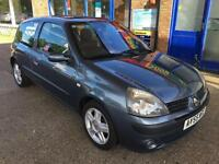 2005 Renault Clio1.2Dynamique - 19Serv Stamps - Cam-belt done:153,328- 1F Keeper