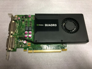 NVIDIA Quadro K2000D 2GB GDDR5 Graphics card