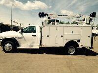 2014 Dodge Ram 5500 dually 4x4 mechanics service truck