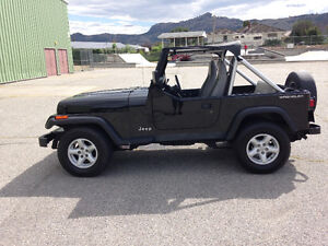 Jeep wrangler yj 1991 only 40000km all original
