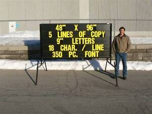 Manufacturing company ... Mobile signs ..