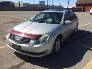 2004 Nissan Maxima with navigation