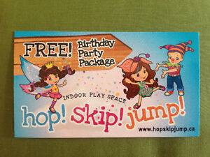 Birthday Party Package at hop!skip!jump!