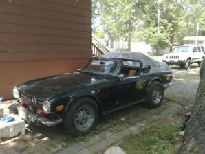 CUSTOM 340 V8 TR6 RUNS GREAT