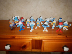 Lot de 16 Figurines Schtroumpf Mcdonald A Voir
