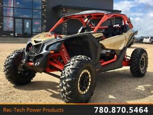 2017 Can-Am Maverick X3 X RS Turbo R Gold  Can-Am Red