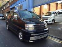 1999 Nissan Elgrand Rider 3.2 Turbo Diesel Homy Highway Star 4x4 4wd Mpv 8Seats
