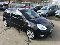 Ford Fiesta 1.4 * Ltd Edn Black * YEARS MOT * FULLY LOADED *