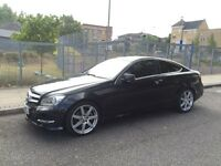 Mercedes Benz 2013 AMG C250 coupe , diesel , automatic