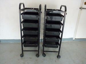 2 - Dannyco Color trolley on wheels (Pair)