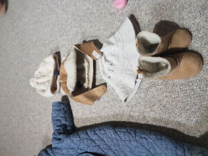 Pre-loved baby items for sale.