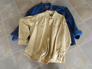 Chamois heavy weight shirt from Cabela's - almost new