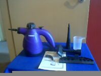 Maxim Hand Held Steamer Cleaner with some Accessories