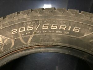 Winter tires Goodyear Nordic 205/55R16 Pneus d'hiver