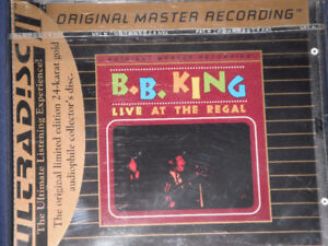 B.B. King. Live at the Regal MFSL gold new