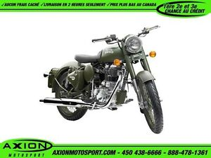 2016 Royal Enfield Classic Battle Green 29,39$/SEMAINE