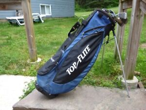 GOLF CLUBS GRAPHITE  WITH BAG/STAND LADIES RIGHT HAND