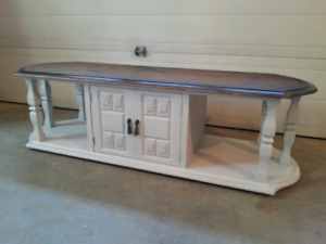 Refinished coffee table