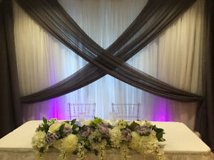 Backdrop for parties and wedding