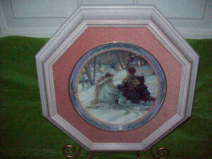 TRISHA ROMANCE Framed Collector PLATE **GIFT IDEA***