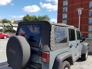 Jeep Wrangler Unlimited OEM Soft Top London Ontario image 3