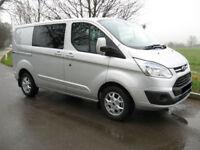 Ford Transit Custom DoubleCab 310 LTD L2 H1 2.0TDCi 130PS 2017.25MY £298 + VAT