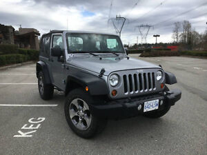 2013 Jeep Wrangler Sport SUV 2 Door Automatic One Owner New Rims