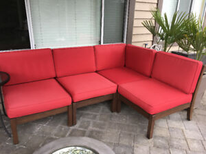 Outdoor Pottery Barn Sectional