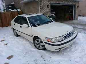 2002 SAAB 9-3 2.0 TURBO (parts or project)