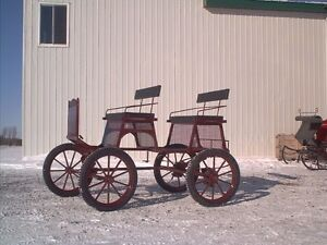 Carriages , wagon, sleighs , carts all new made to order! St. John's Newfoundland image 9