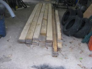 Rough Sawed 2x4 and 2x6 for sale