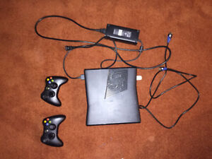 Xbox 360 Console and Controllers