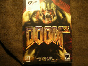 DOOM 3 VIDEO GAME FOR PC'S