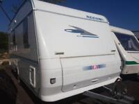Adria ALTERA FIXED DOUBLE BED. IMMACULATE CONDITION