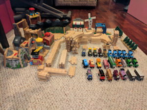Thomas the Tank Engine wooden toys - large collection