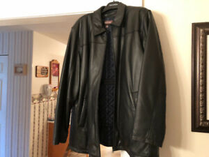 Men's New Leather Jacket
