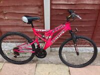 WOMENS 20 INCH SABRE SUSPENSION MOUNTAIN BIKE 21 SPEED SMETHWICK £45